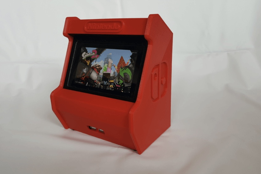 this 3d printed nintendo switch looks like a mini arcade image 9