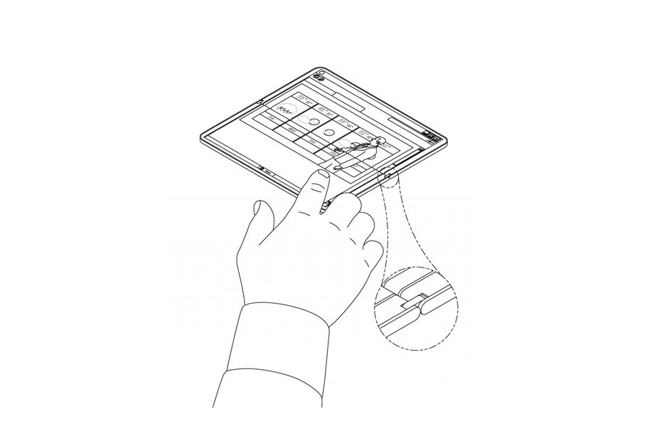 Patent For Microsoft Surface Notepad Is Here 1