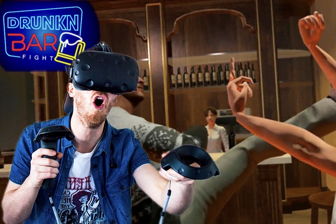 Video: Drunk, Bar Fights, Virtual Reality. Sounds Like A Party! 1