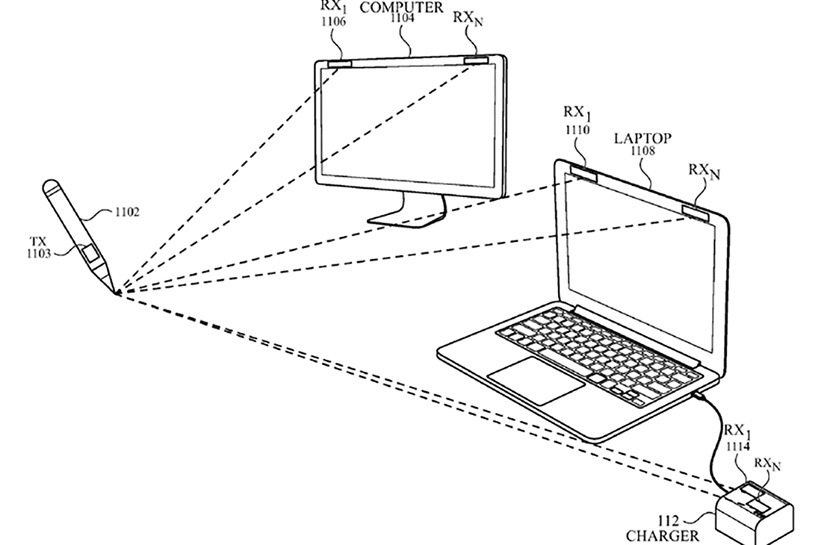 Apple Files A Patent For A New Stylus That Works Without A Screen 1
