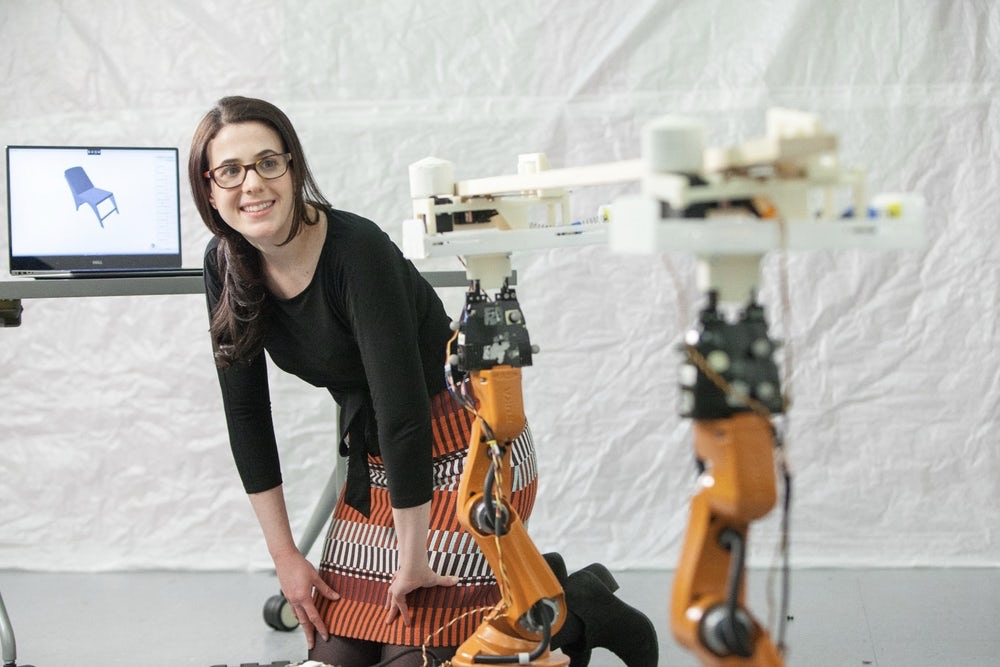 Video: Autosaw Uses Robots To Design Furniture In A Safe Way 1