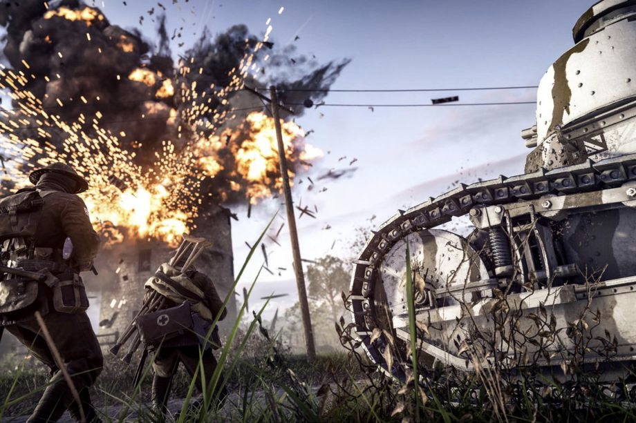 Ea Is Training Ai Players In Battlefield 1 1