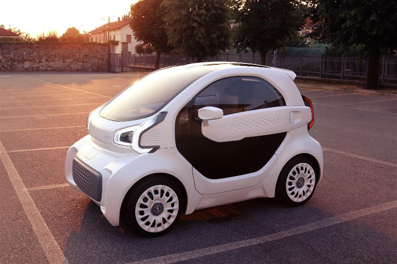 A 3d Printed Electric Vehicle Features Only 57 Parts 1
