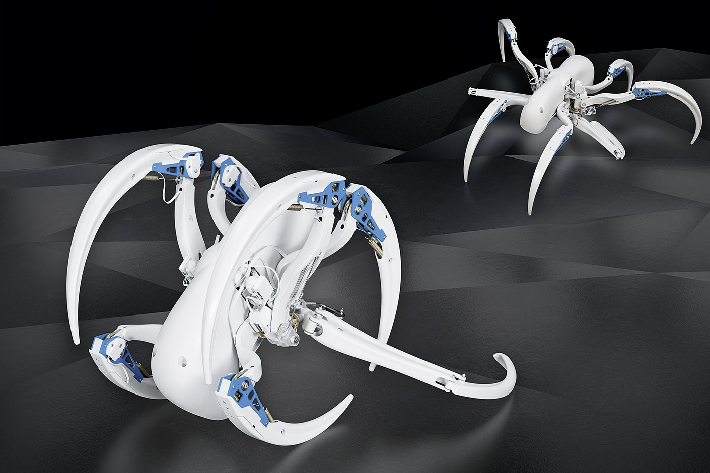 This Spider-inspired Robot Can Roll Like A Tyre 1