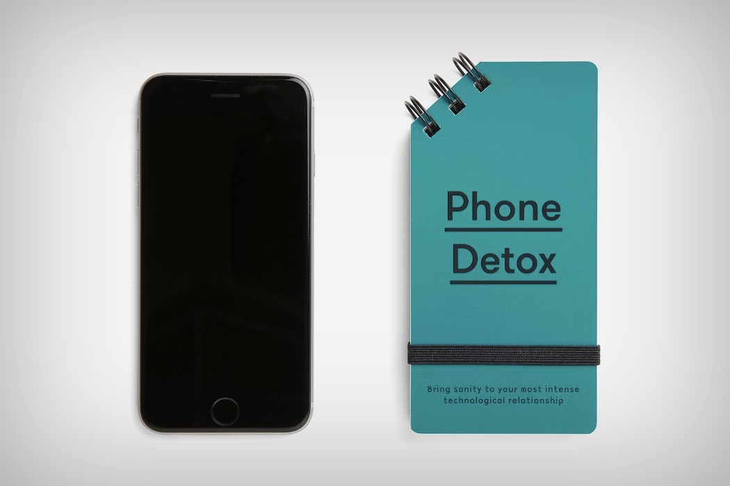 Need a detox from your phone? There is a book for that! 1