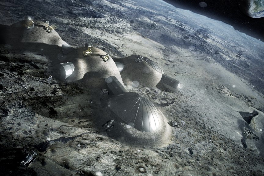 This Space Agency Wants To Build A Village On The Moon 1
