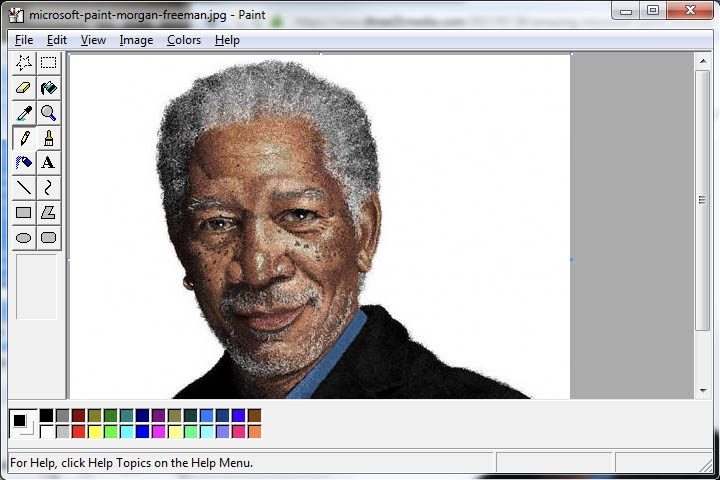 Some of the most incredible Microsoft Paint art 1