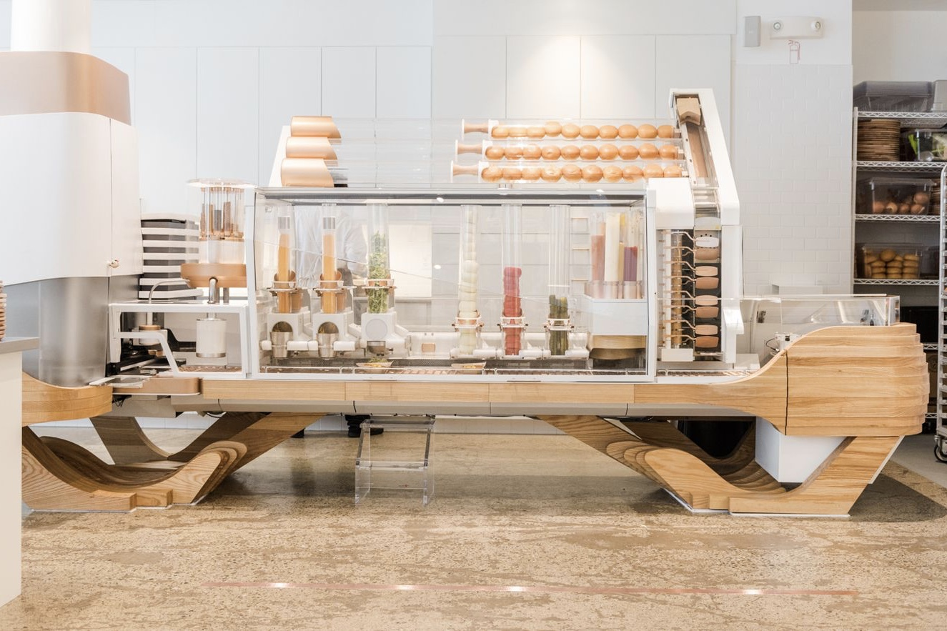 This Amazing Machine Can Cook And Assemble 100 Delicious Burgers 1