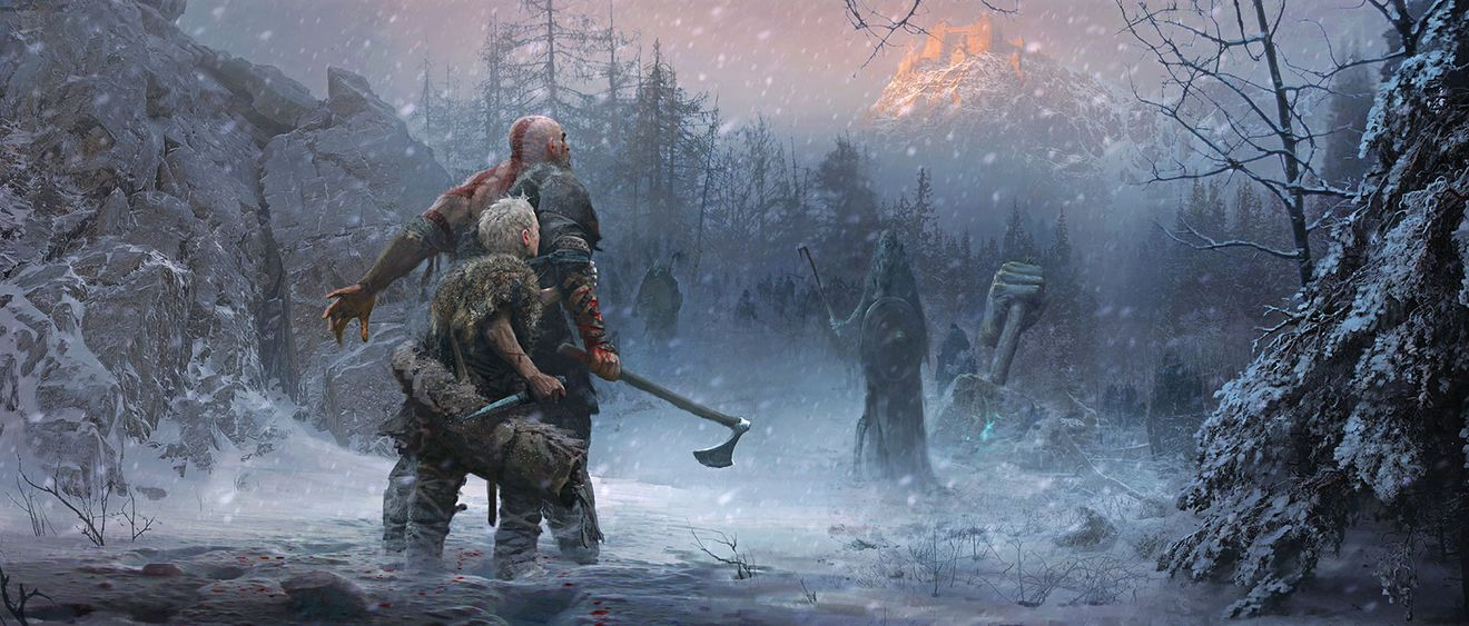These God of War prints make the story come to life 5