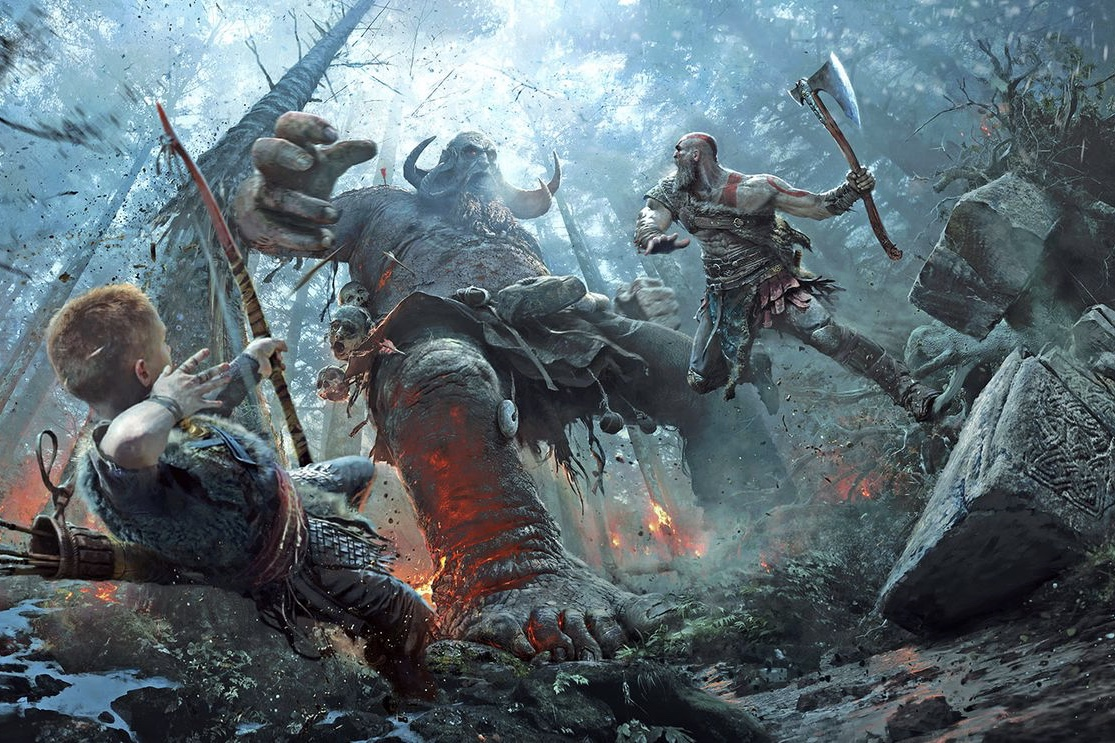 These God of War prints make the story come to life 1