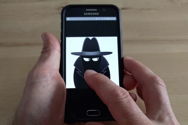 Your smartphone is spying on you and it