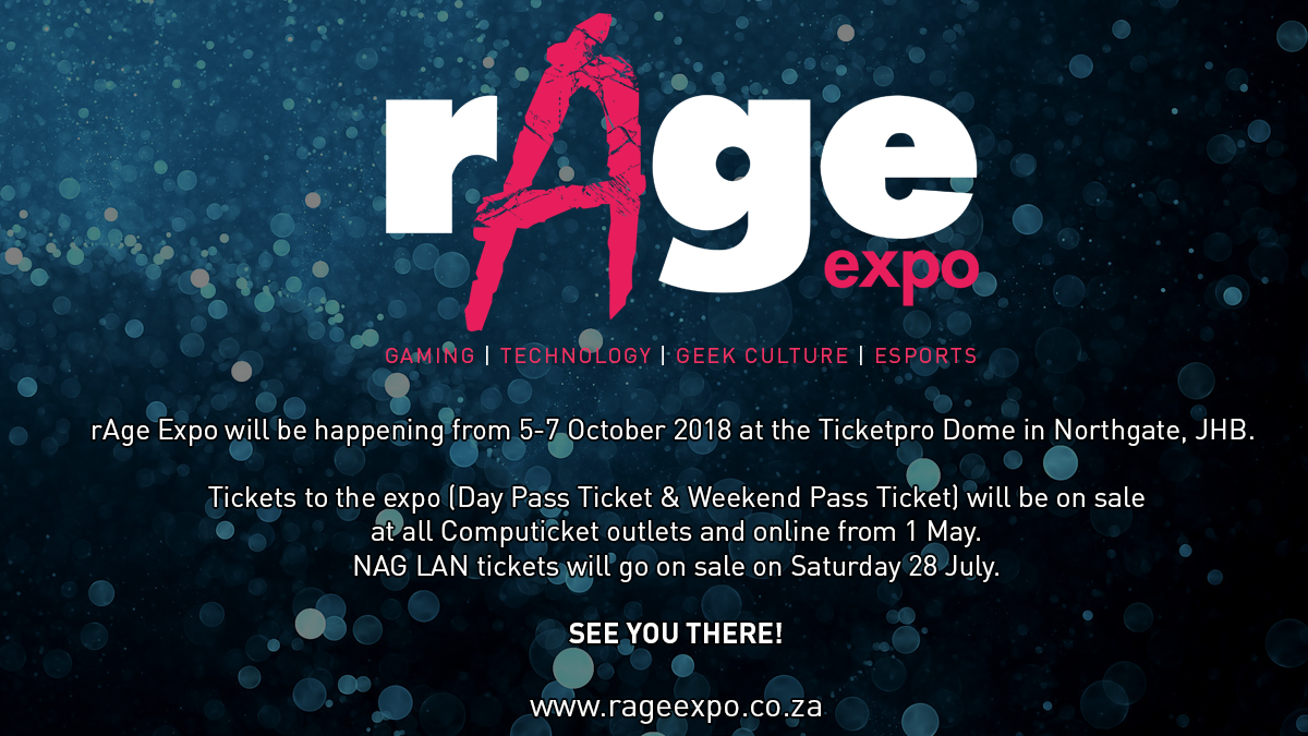 The upcoming rAge LAN will cater for every gamer 2
