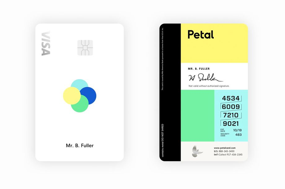 Have you seen the latest portrait bank cards? 4