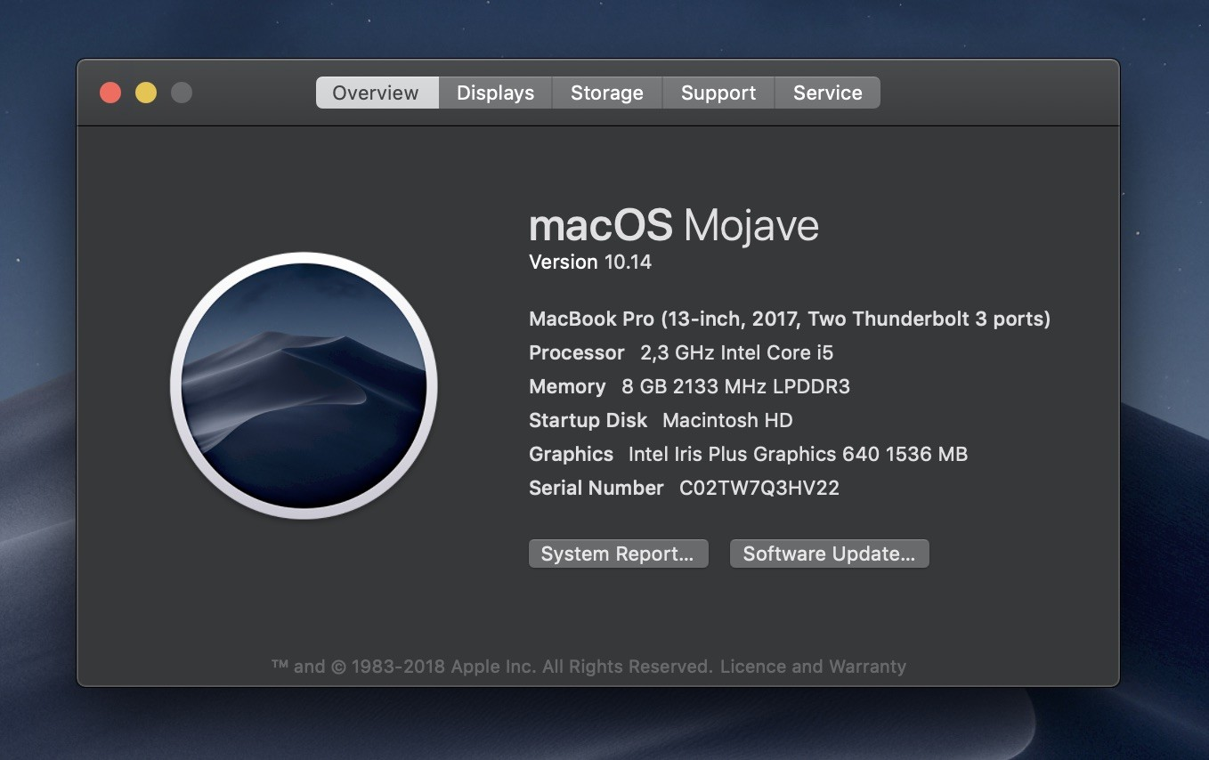 Latest Apple Mac Mojave Software Is Here 3