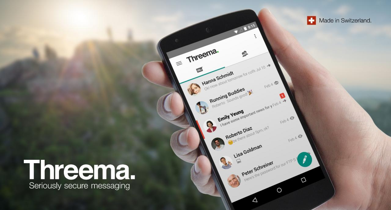 Instead Of Using WhatsApp Here Are 5 Other Messaging Apps 4