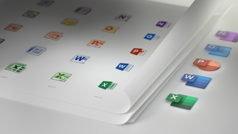 Microsoft Office Is Getting A New Set Of Icons 3
