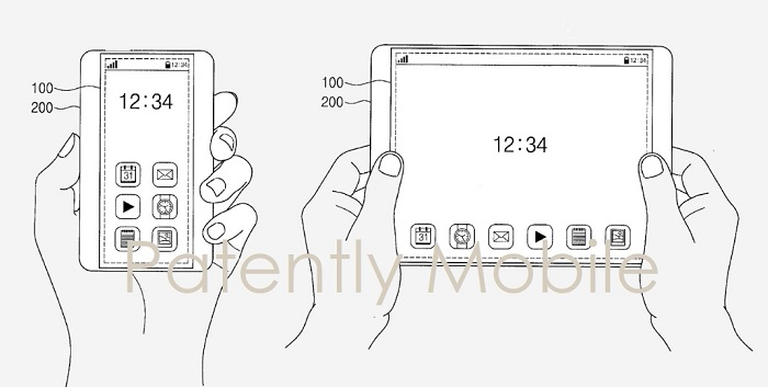 Samsung Invents A Smartphone That Can Stretch Into A Tablet 4