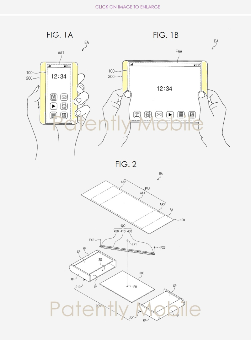 Samsung Invents A Smartphone That Can Stretch Into A Tablet 2