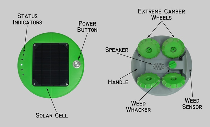 Franklin Robotic's,Tertill,Weed,Robotics,Robot,Computers/Technology,News,
