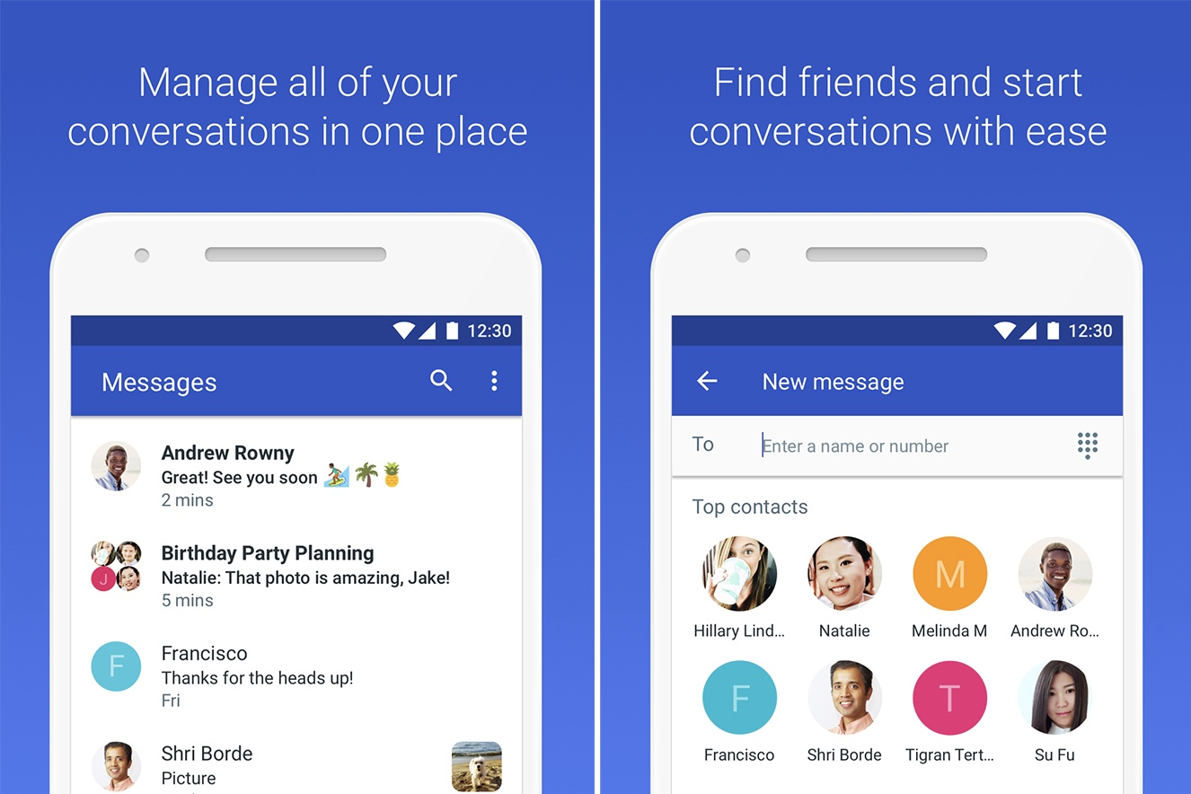 Google's New Messaging App Can Tell What You're Texting About