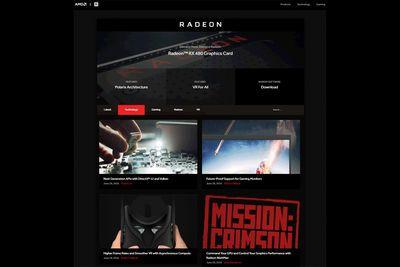 Amd Opens Radeon.com Website