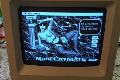 Guy Finds Porn Game From The 80s On A Mac He Bought