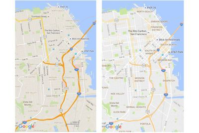Video: Google Maps Now Highlights Busy Neighborhoods