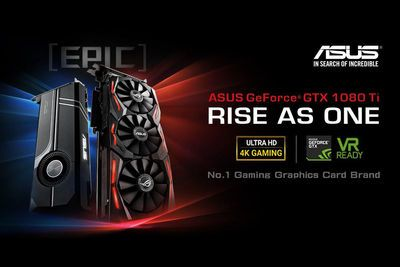Asus To Release Strix And Turbo Models Of The Geforce Gtx 1080 Ti