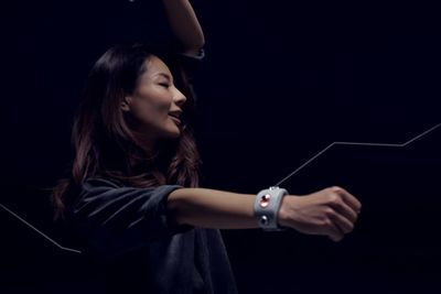 Video: Sony's Motion Sonic Wristband Makes Sound With A Wave Of Your Arm