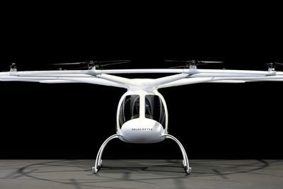 This Volocopter Plans On Becoming The New Flying Taxi.