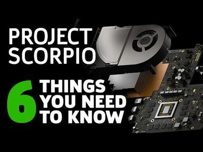 Video: Project Scorpio Might Just Be The Most Powerful Console Ever!!