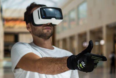 Video: This High Tech Glove Turns Your Hand Into A Virtual Gun.
