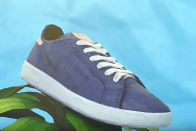 Video: You Can Wear Sneakers Made Out Of Corn!