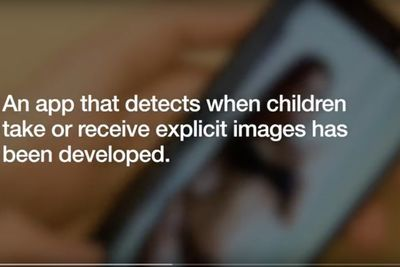 Video: The New Nude Pic Detection App