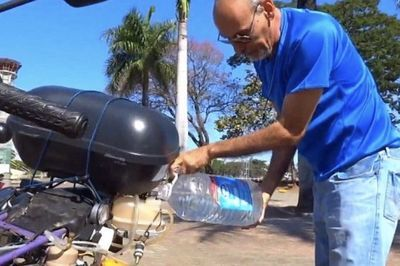 Video: A Water-powered Motorcycle!!