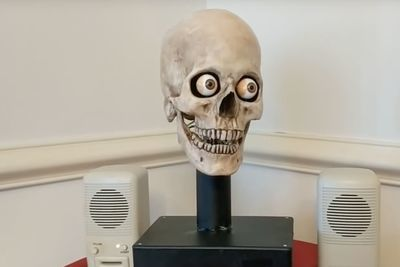 Video: Amazon's Alexa Talks Out Of A Skull And It Is Kind Of Scary