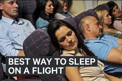 Video: Scientist Shows The Best And Worst Ways To Sleep On A Plane
