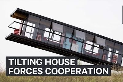 Video: This Tilting House Forces Roommates To Cooperate!