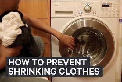 Video: Here's Why Clothes Shrink In The Wash - And How To Prevent It!
