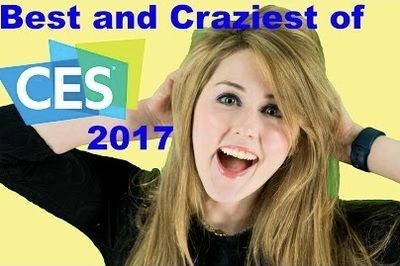 Video: Best And Craziest Of Ces 2017!