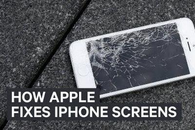 Video: Apple Reveals How They Repair Broken Iphone Screens