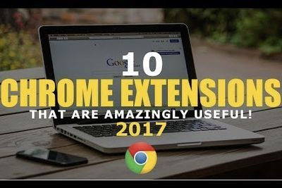 Video: Incredibly Useful Chrome Extensions!