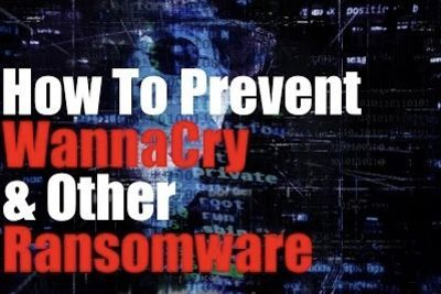 Video: How To Prevent Wannacry And Other Ransomware!