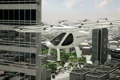 The Volocopter Will Take To The Skies In Dubai Later This Year!