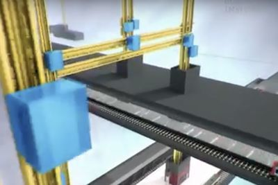 Video: This Elevator Is Just Out Of Willy Wonka!