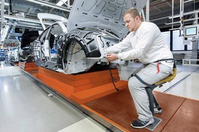 Video: 'chairless Chair' Might Be The Future For Factory Workers!