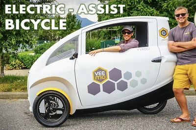Video: The Veemo, Solar Powered E-bike Is Designed To Reduce City Traffic!