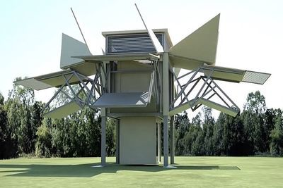 Video: Ten Fold's Unfolding Building Prototype Is A Dream From The Future!