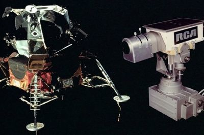 Video: Tv Cameras Left On The Moon...