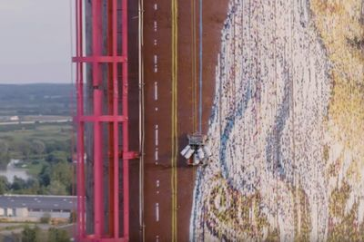 Video: Spraypainter's Latest Graffiti Robot Hits New Heights!